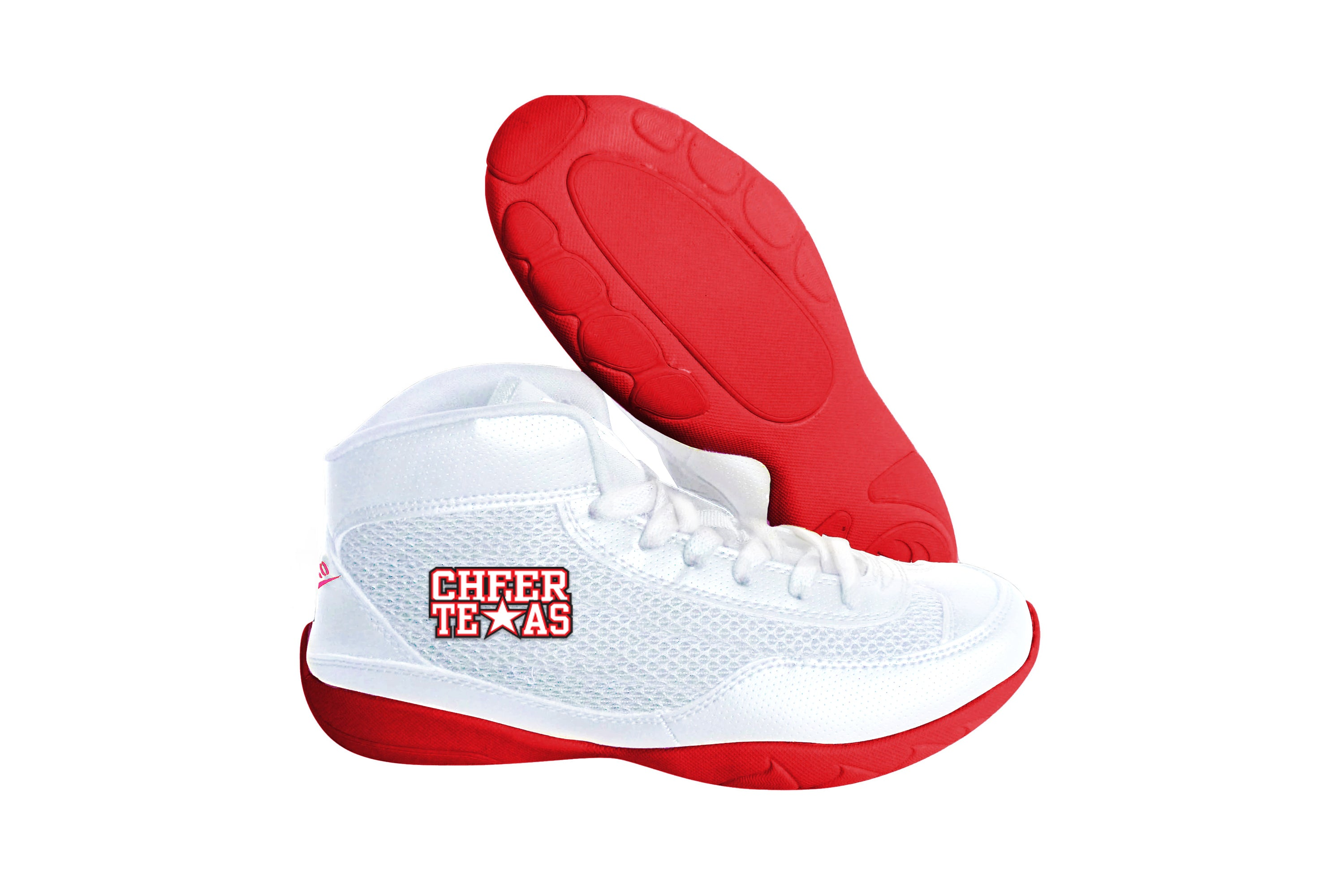 High Top V-Ro Red Shoes