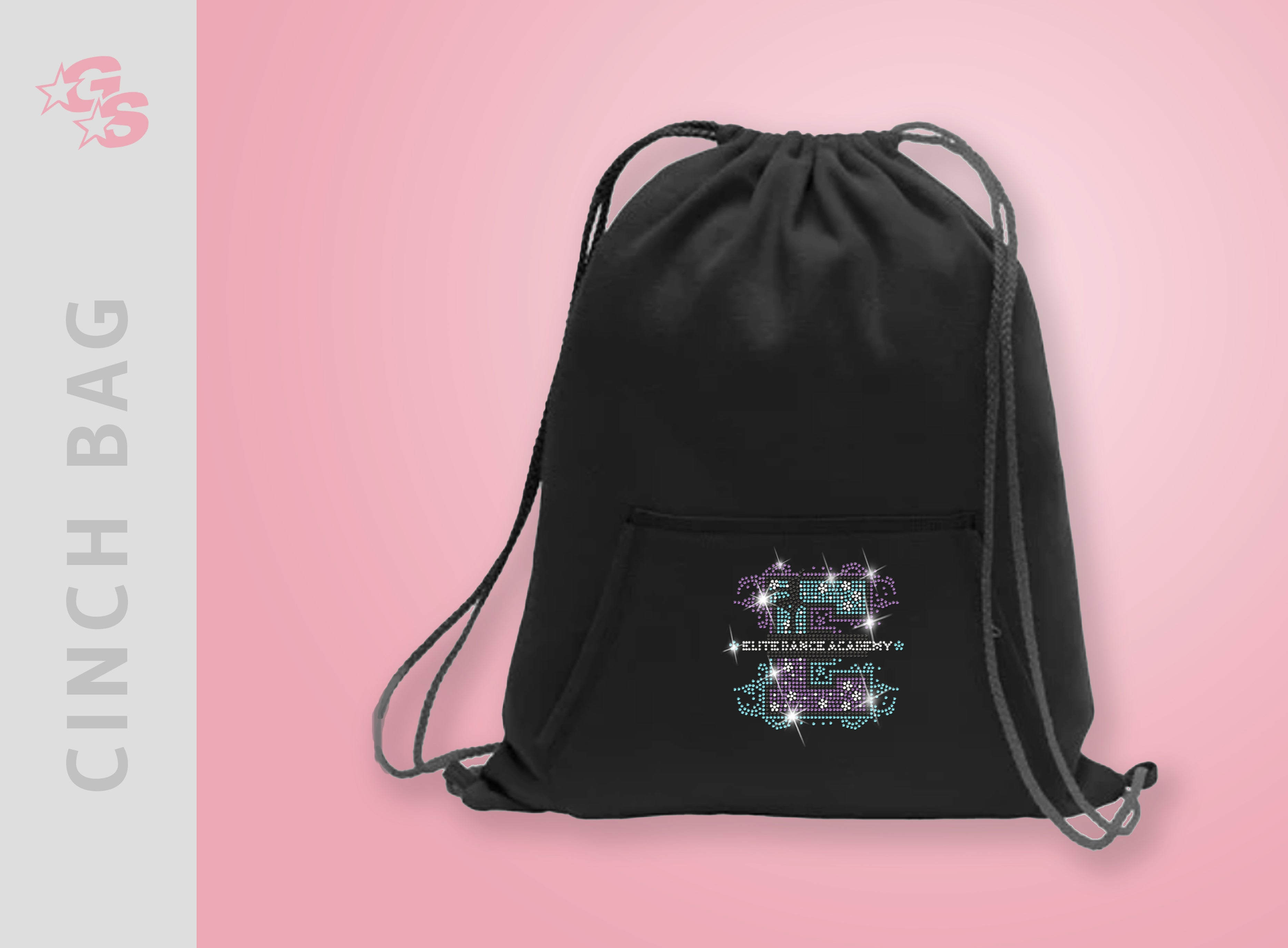Elite Dance Academy Cinch Bag