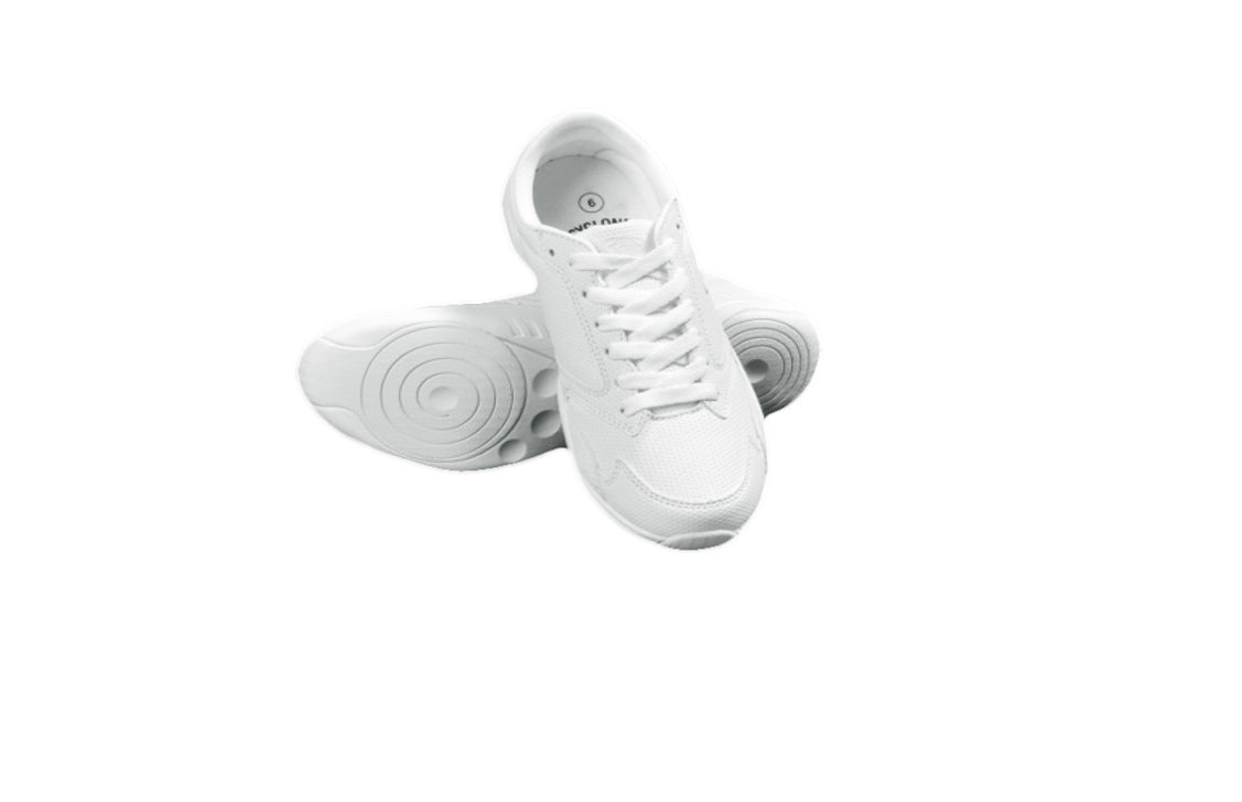 Cyclone Cheer Shoes (White Low Top)