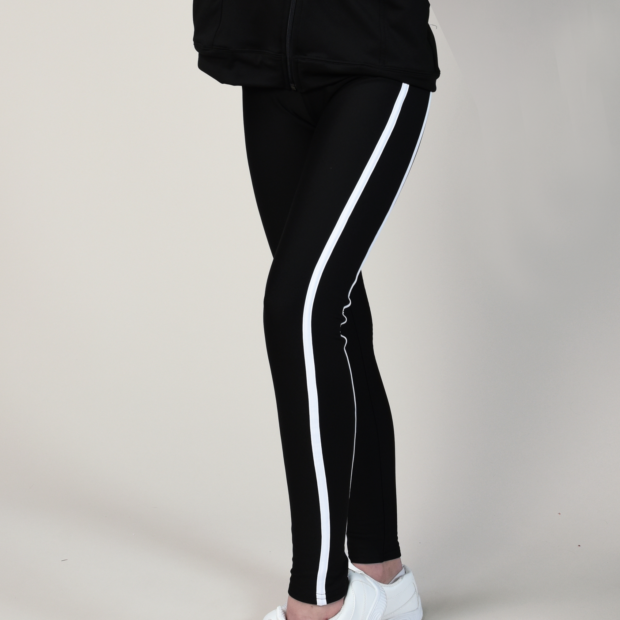 Double Stripe Mystique Warmup Legging