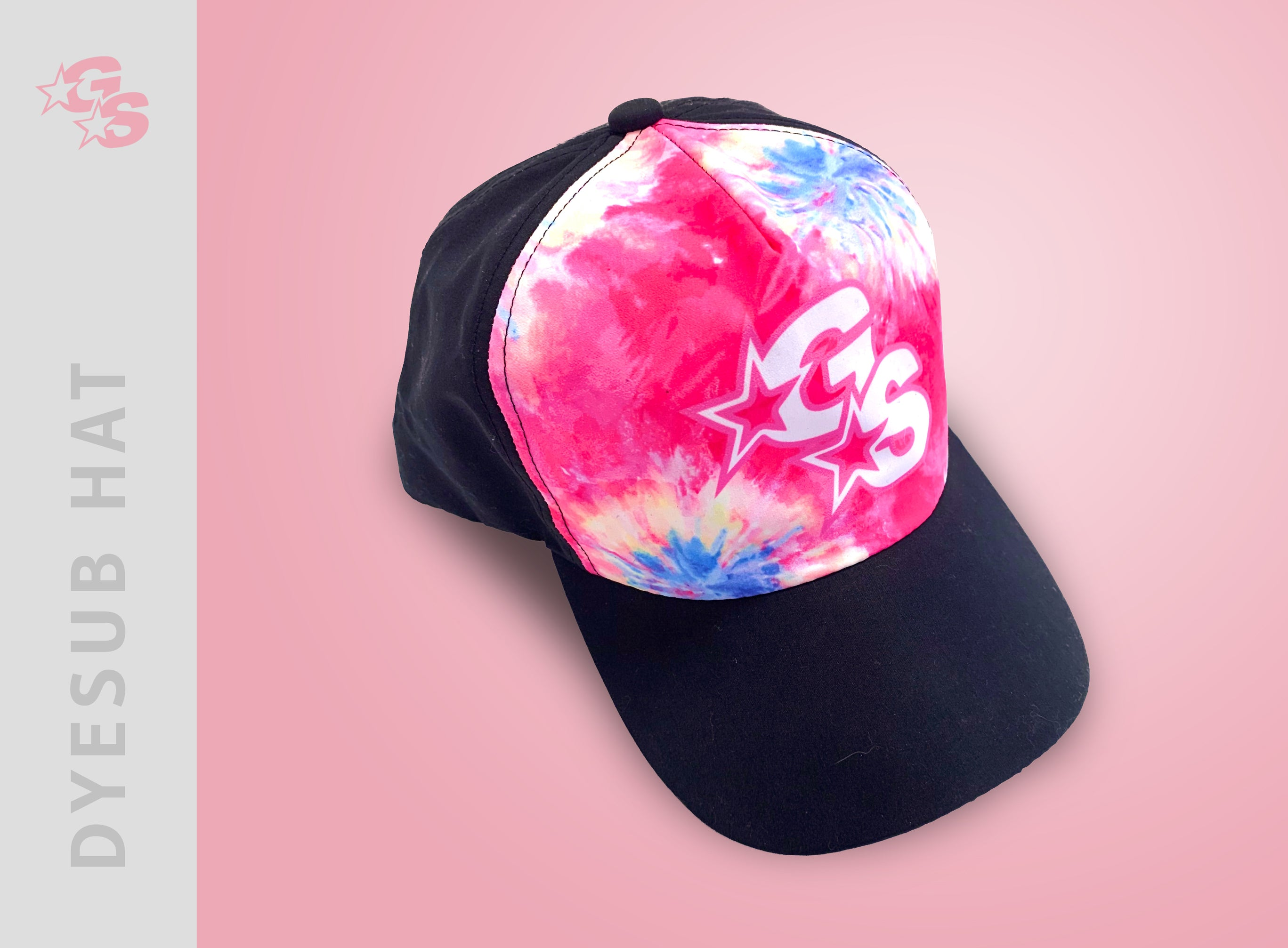 Sublimated Hat with dyesub logo