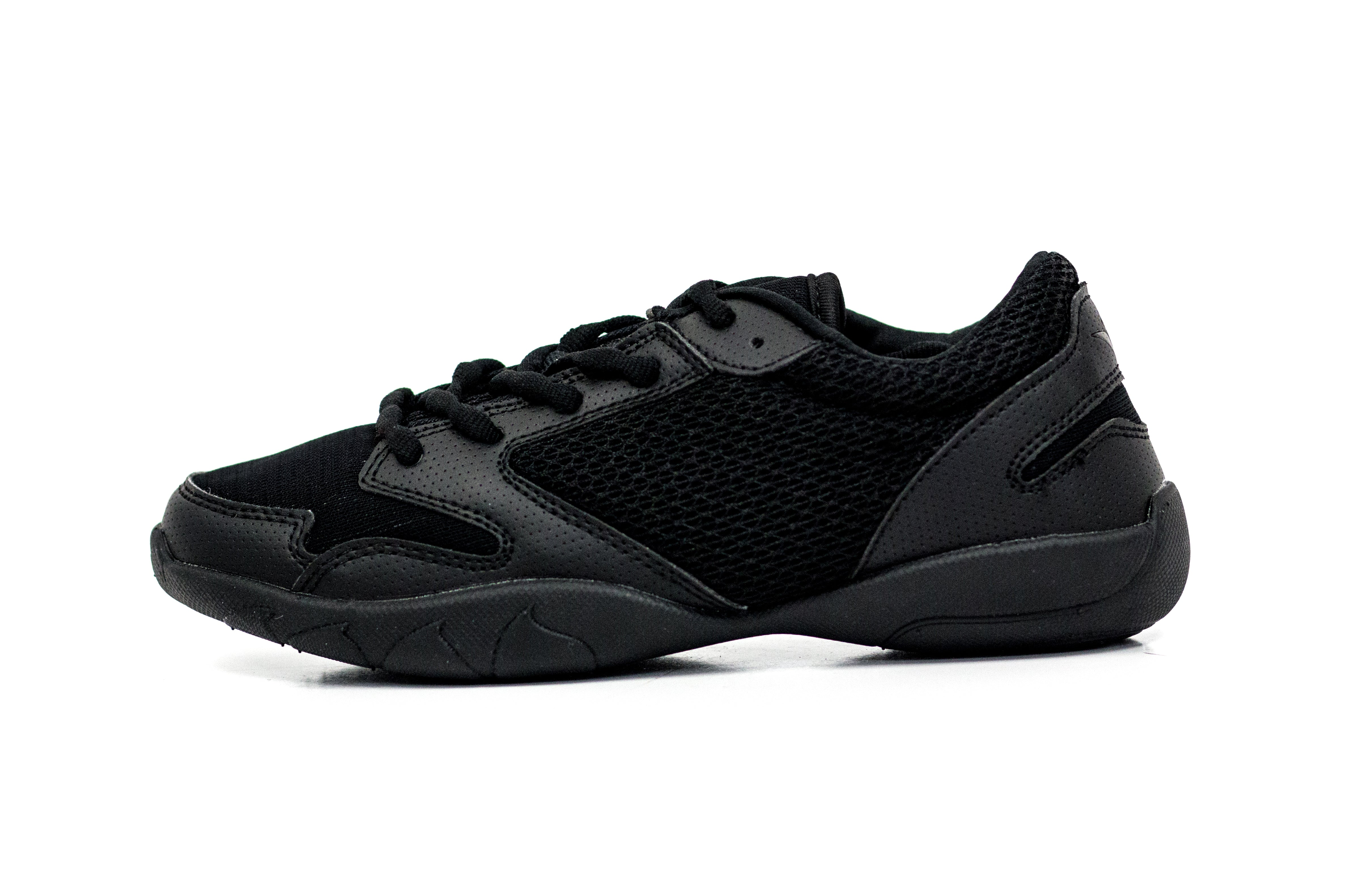 Black Low Top V-Ro Shoes