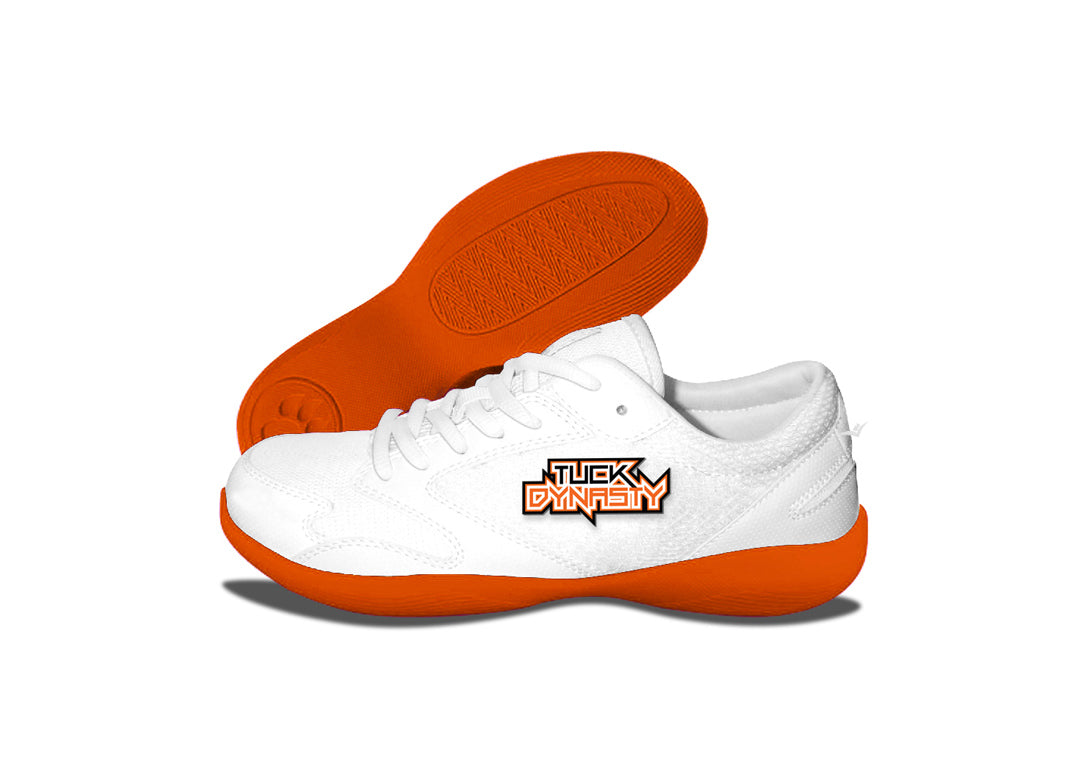 Custom Low Top V-Ro  Orange Shoes