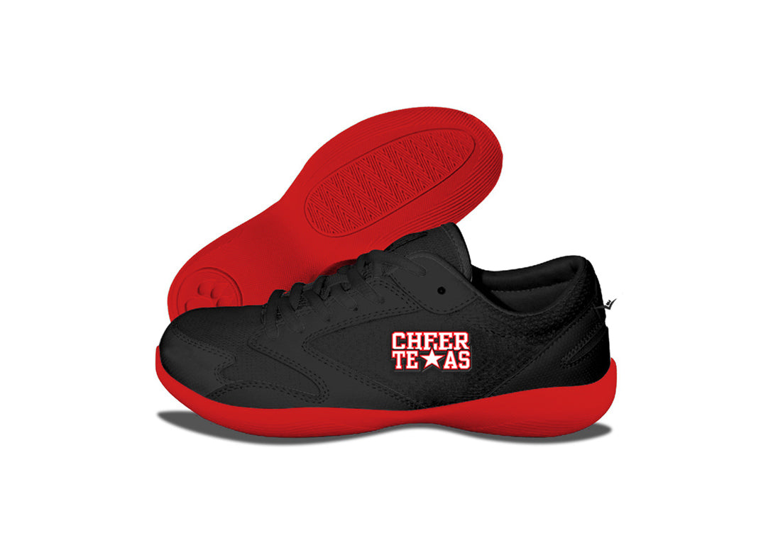 Custom Low Top V-Ro Red Shoes