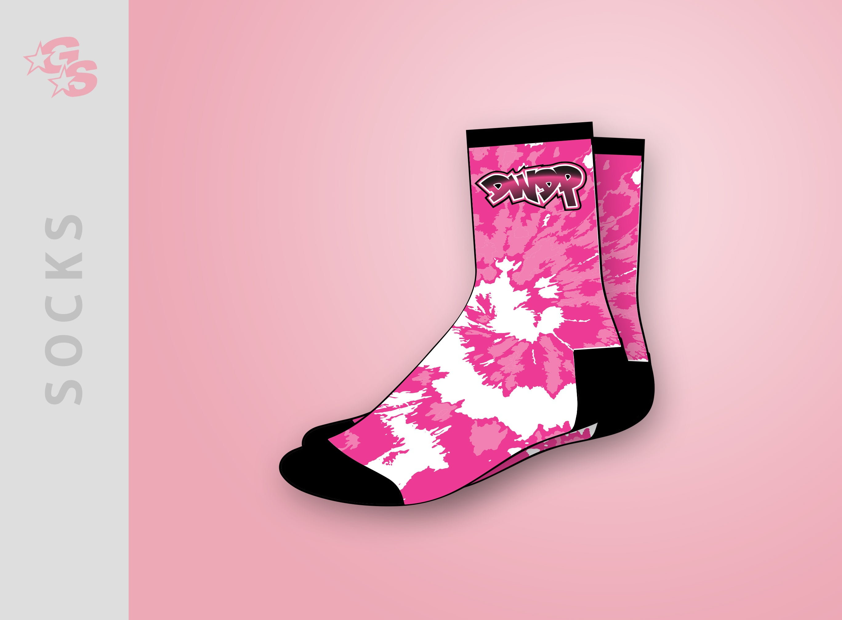 Copy of Platinum Gymnastics Socks