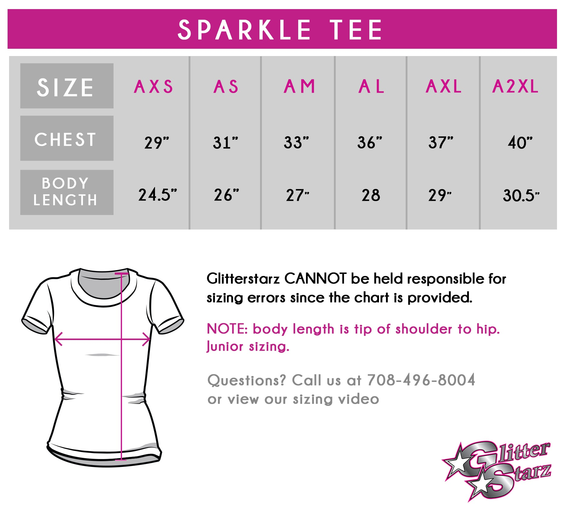 Saratoga School of Dance Sparkle Tee