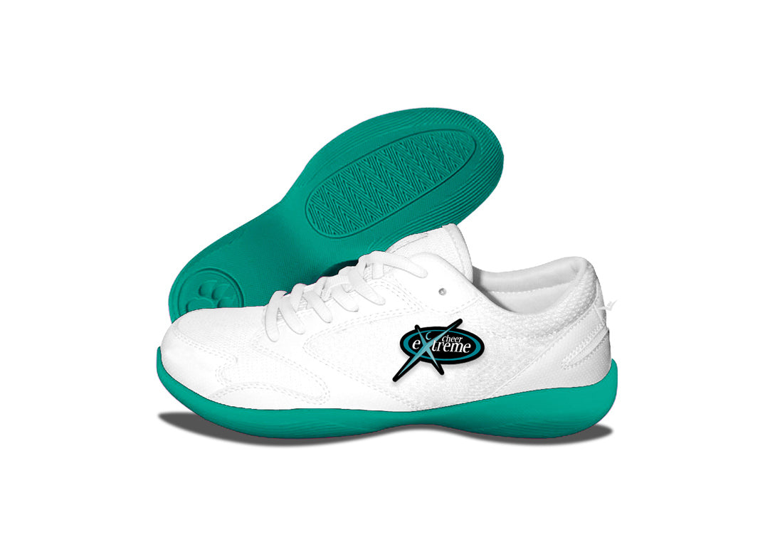 Custom Low Top V-Ro Teal Shoes