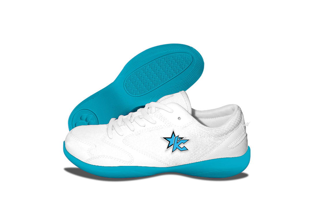 Custom Low Top V-Ro Turquoise Shoes