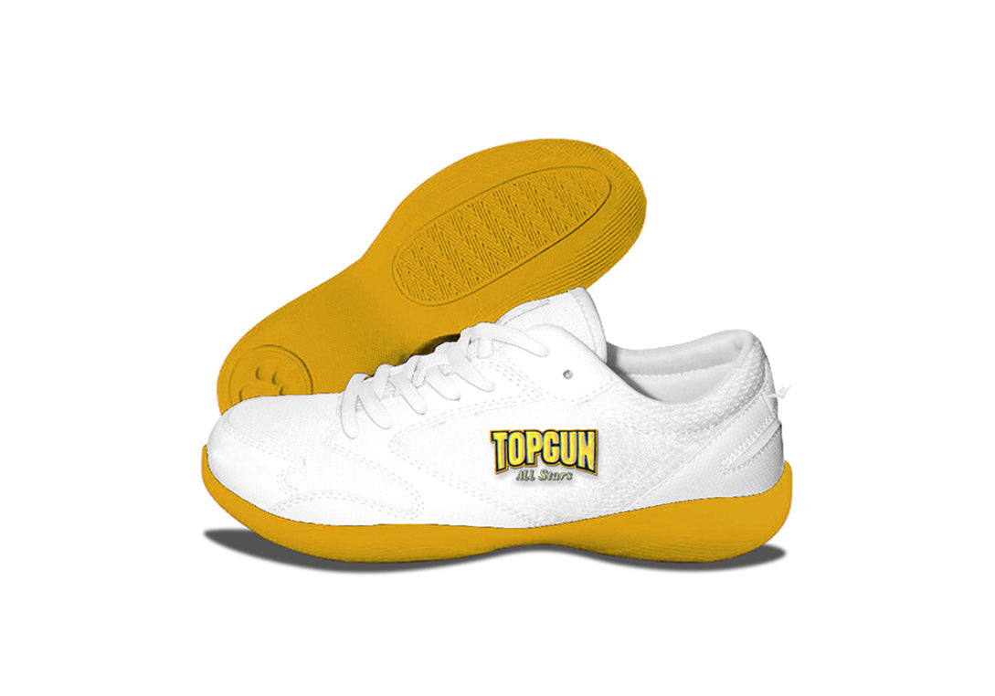 Custom Low Top V-Ro Yellow Shoes