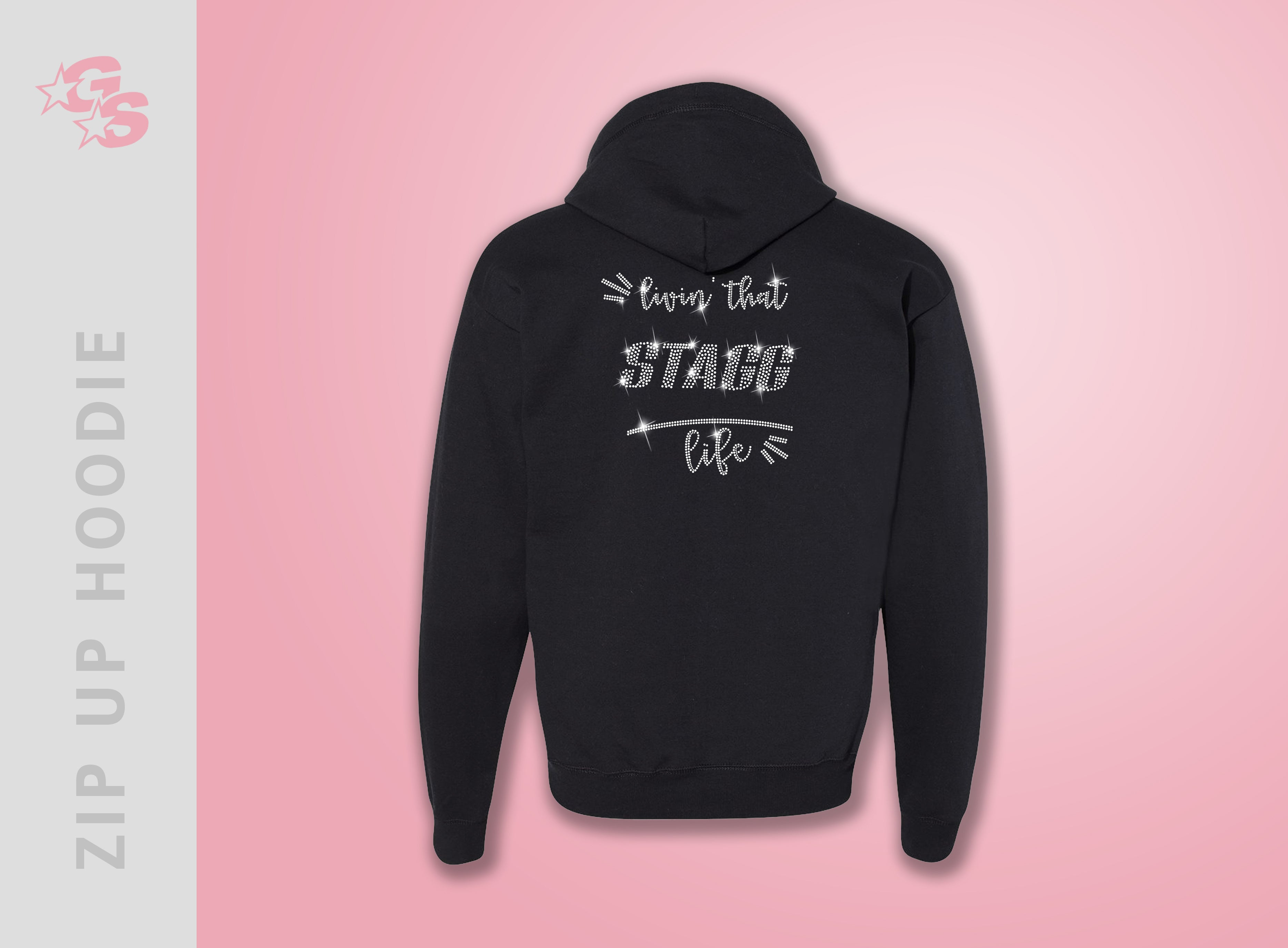 Stagg Orchesis Dance Company Zip Up Hoodie