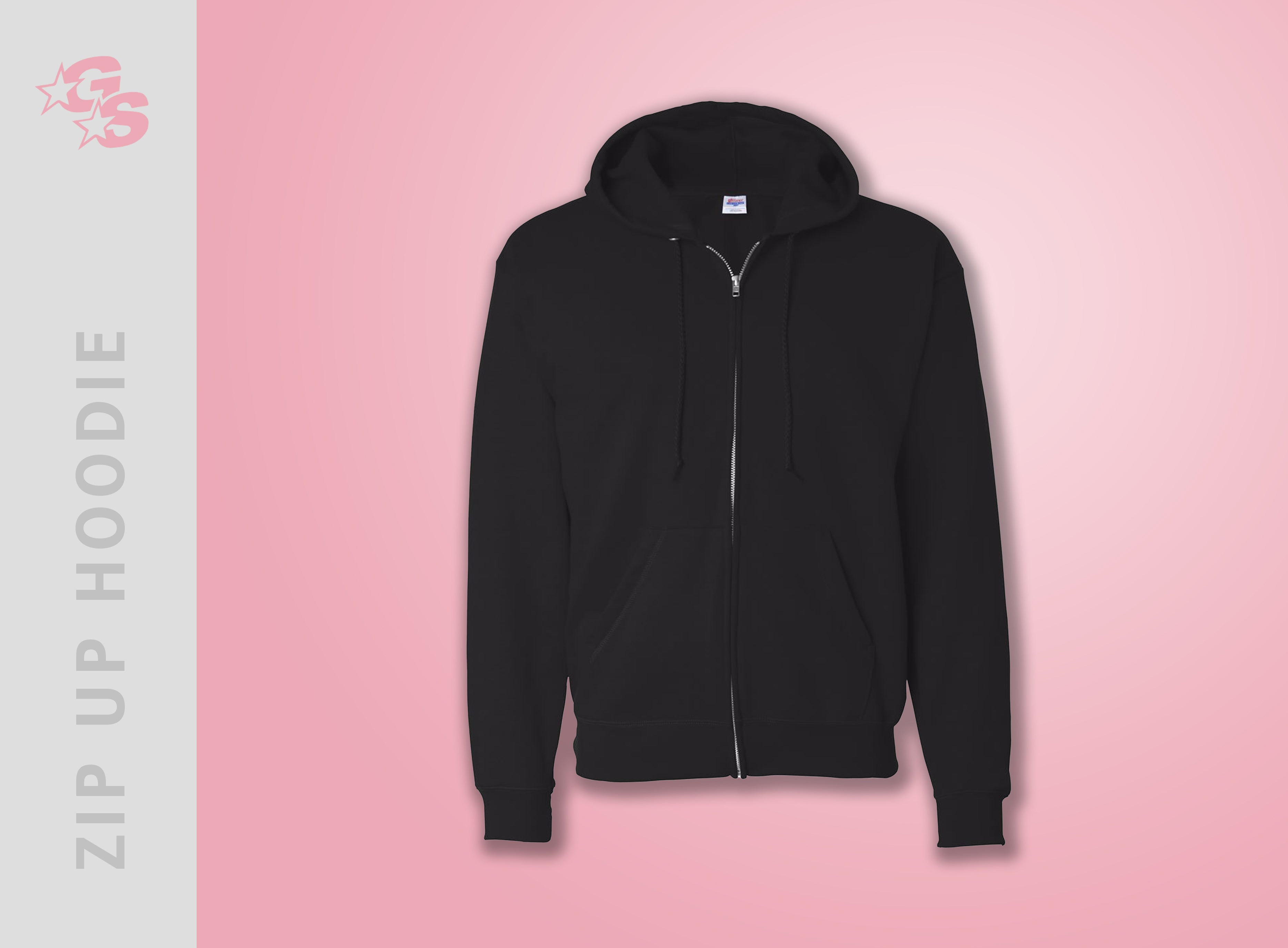Modern American Cheer Zip Up Hoodie