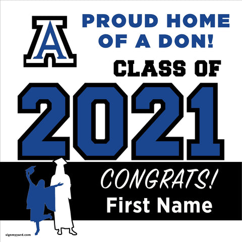 Acalanes High School 24x24 Class of 2020 Yard Sign (Option A)