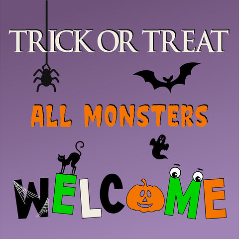 24x24 Halloween Yard Sign with Stake (Includes installation in our coverage area)