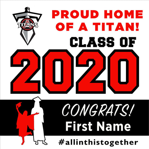 Antelope High School 24x24 Class of 2020 Yard Sign (Option A)