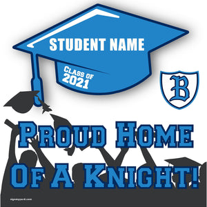 Bullard High School 24x24 Class of 2021 Yard Sign (Option B)