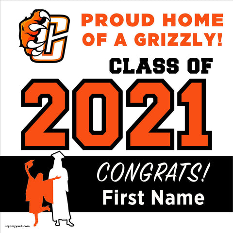 Central High School 24x24 Class of 2021 Yard Sign (Option A)