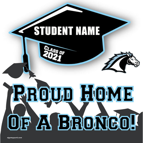 Clovis North High School 24x24 Class of 2020 Yard Sign (Option B)