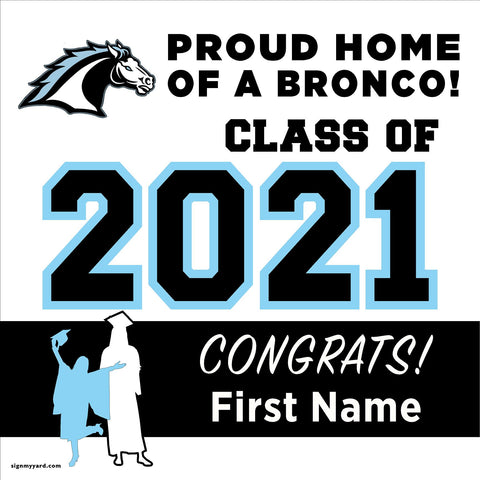 Clovis North High School 24x24 Class of 2020 Yard Sign (Option A)