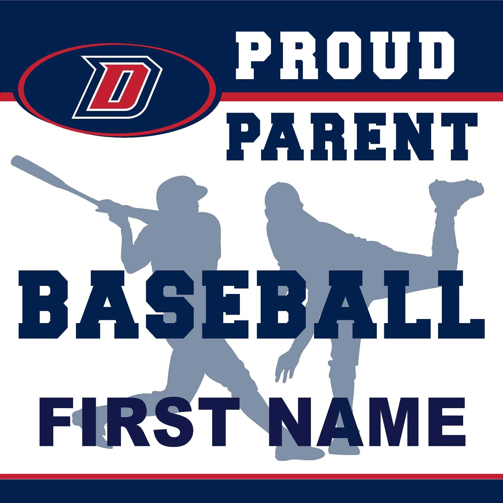 Dublin High School Baseball (Parent) 24x24 Yard Sign (includes installation in your yard)