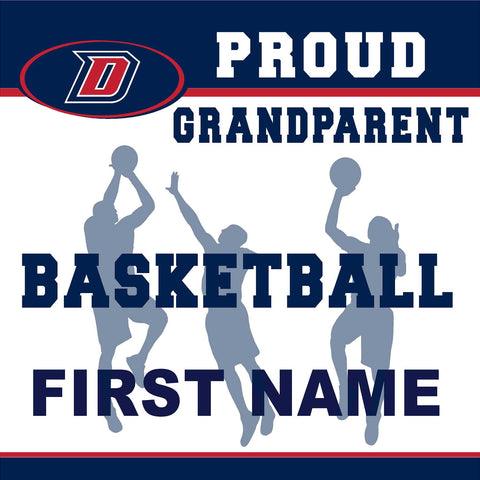 Dublin High School Basketball (Grandparent) 24x24 Yard Sign (includes installation in your yard)