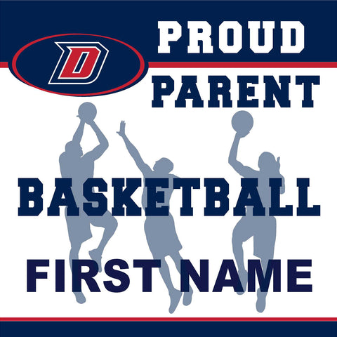 Dublin High School Basketball (Parent) 24x24 Yard Sign (includes installation in your yard)