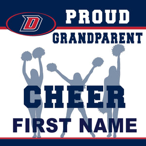 Dublin High School Cheer (Grandparent) 24x24 Yard Sign (includes installation in your yard)