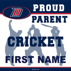 Dublin High School Cricket (Parent) 24x24 Yard Sign (includes installation in your yard)
