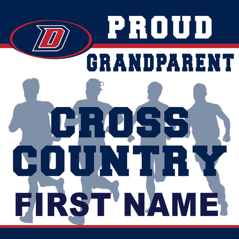 Dublin High School Cross Country (Grandparent) 24x24 Yard Sign (includes installation in your yard)