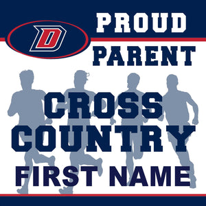 Dublin High School Cross Country (Parent) 24x24 Yard Sign (includes installation in your yard)