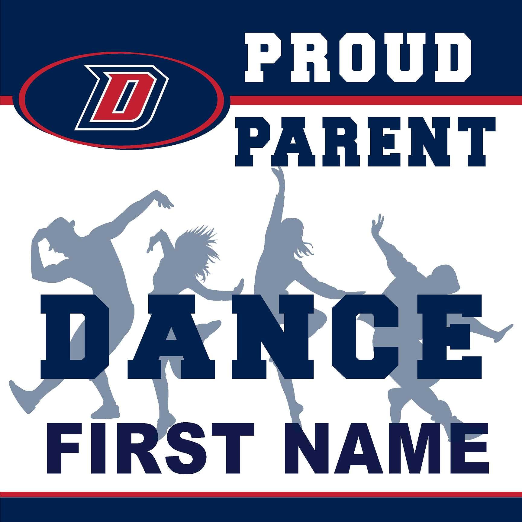 Dublin High School Dance (Parent) 24x24 Yard Sign (includes installation in your yard)