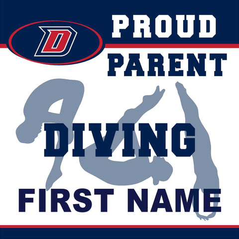 Dublin High School Diving (Parent) 24x24 Yard Sign (includes installation in your yard)