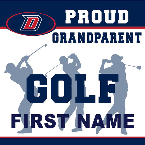 Dublin High School Golf (Grandparent) 24x24 Yard Sign (includes installation in your yard)