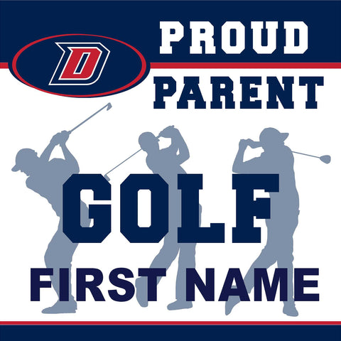 Dublin High School Golf (Parent) 24x24 Yard Sign (includes installation in your yard)