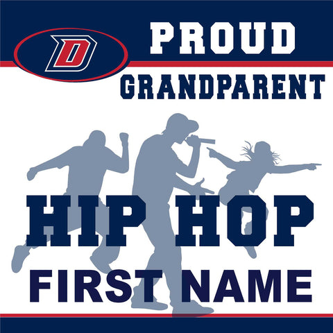 Dublin High School Hip Hop (Grandparent) 24x24 Yard Sign (includes installation in your yard)