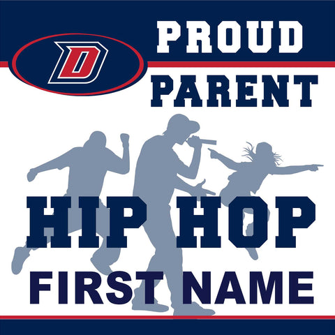 Dublin High School Hip Hop (Parent) 24x24 Yard Sign (includes installation in your yard)