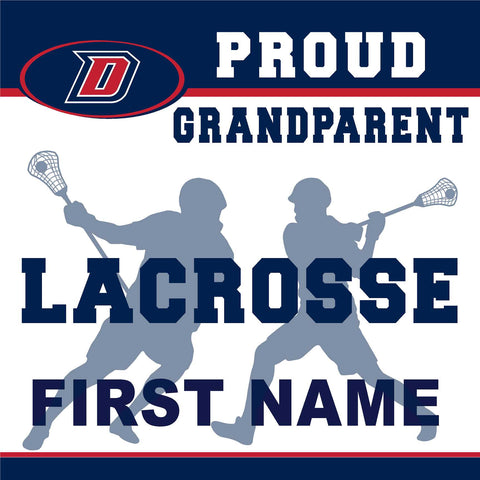 Dublin High School Lacrosse (Grandparent) 24x24 Yard Sign (includes installation in your yard)