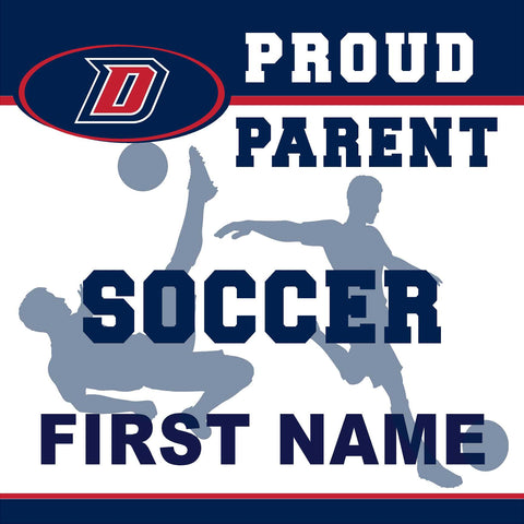 Dublin High School Soccer (Parent) 24x24 Yard Sign (includes installation in your yard)