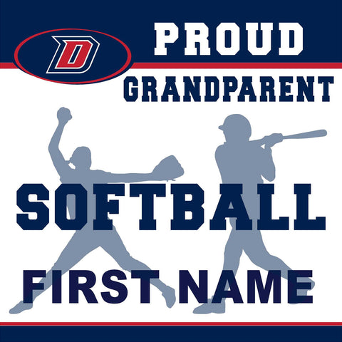 Dublin High School Softball (Grandparent) 24x24 Yard Sign (includes installation in your yard)