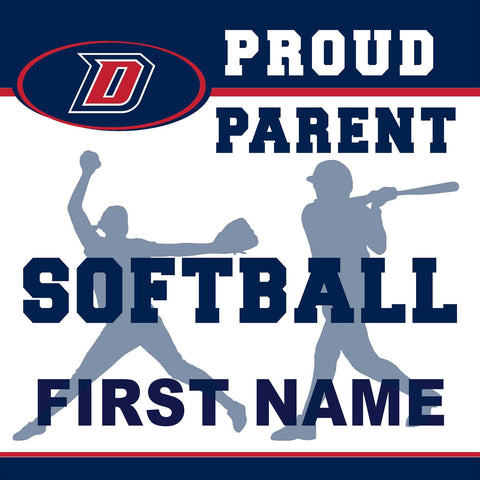 Dublin High School Softball (Parent) 24x24 Yard Sign (includes installation in your yard)