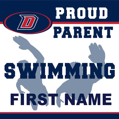 Dublin High School Swimming (Parent) 24x24 Yard Sign (includes installation in your yard)