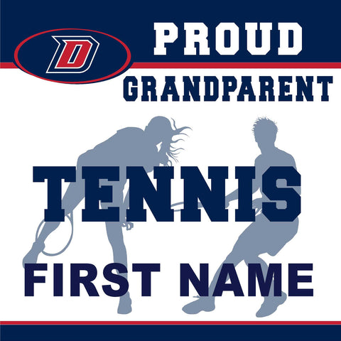 Dublin High School Tennis (Grandparent) 24x24 Yard Sign (includes installation in your yard)
