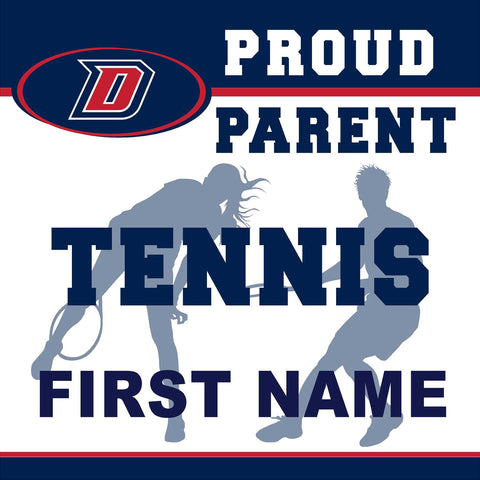 Dublin High School Tennis (Parent) 24x24 Yard Sign (includes installation in your yard)