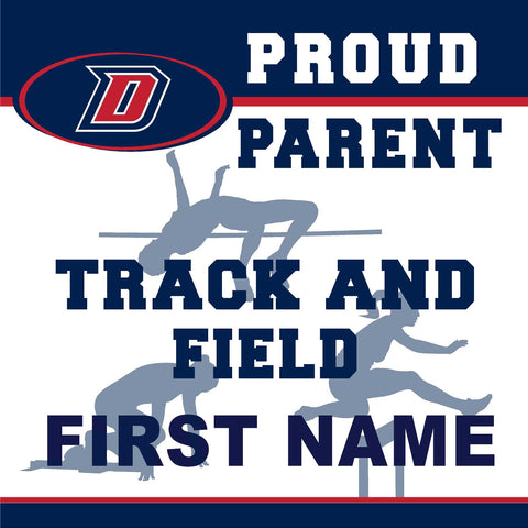 Dublin High School Track and Field (Parent) 24x24 Yard Sign (includes installation in your yard)