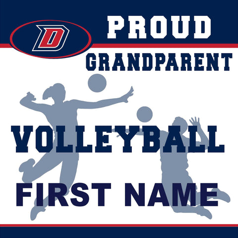 Dublin High School Volleyball (Grandparent) 24x24 Yard Sign (includes installation in your yard)