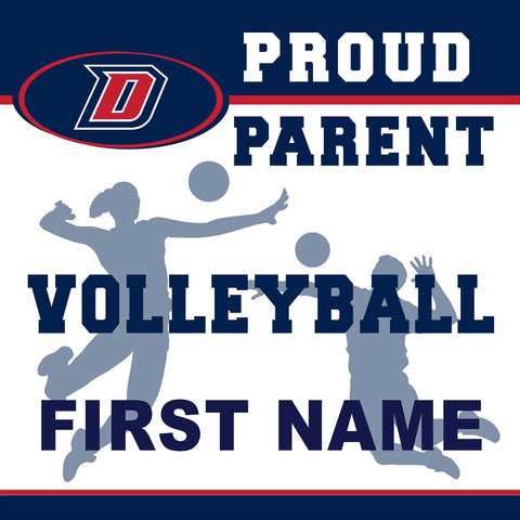 Dublin High School Volleyball (Parent) 24x24 Yard Sign (includes installation in your yard)