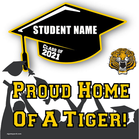Edison High School 24x24 Class of 2021 Yard Sign (Option B)