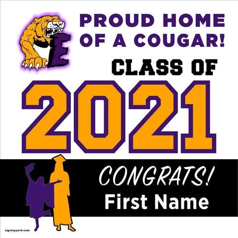 Escalon High School 24x24 Class of 2020 Yard Sign (Option A)