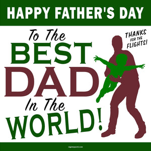 Happy Father's Day!  24x24 Yard Sign (Option C)