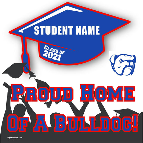 Folsom High School 24x24 Class of 2020 Yard Sign (Option B)