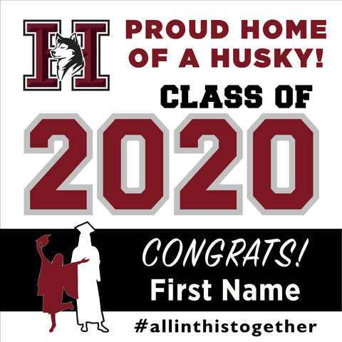Hamilton High School 24x24 Class of 2020 Yard Sign (Option A)